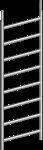 Standleiter Layher 0.75x2.00m/8 Alu
