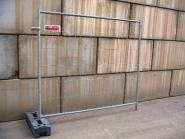 Bauzaun Set 2.20m breit