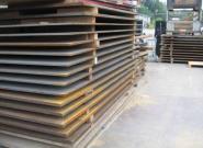 Überfahrplatte- Stahl 3,00m x 2,00m x 18mm 864kg