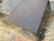 Überfahrplatte- Stahl 3,00m x 1,50m x 27mm 972kg