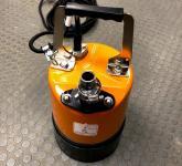 Flachsaug Pumpe 1mm Restwasserhöhe