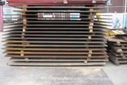 Überfahrplatte- Stahl 3,00m x 1,69m x 34mm 1379 kg