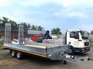 LKW Tandemtieflader Nutzlast 7520kg
