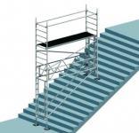 Treppengerüst länge 2,85m