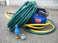 Wasserbett Pumpe mit Saugadapter