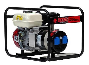 Stromerzeuger 3kVA  2x230V Benzin Europower EP3300 H/MA