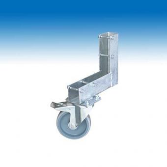 Torrolle für Bauzaun Elemente Ø125mm