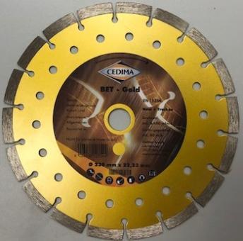 Dia-Trennblatt BET GOLD Ø230mm