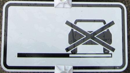 Halteverbot auch auf dem Seitenstreifen VZ1060-31