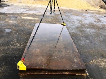 Hebegeschirr für Stahlplatten