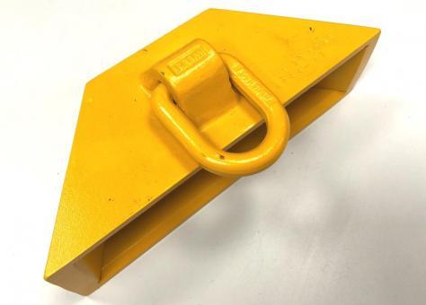 Eckheber Hebetasche für Stahlplatten