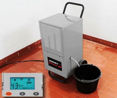 Luftentfeuchter Roller 80Liter/24h 850m³/h