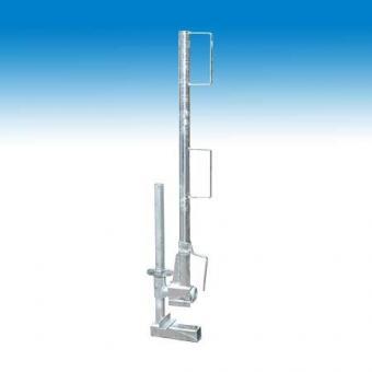 Schutzgeländerzwinge 1-40cm Höhe 1m