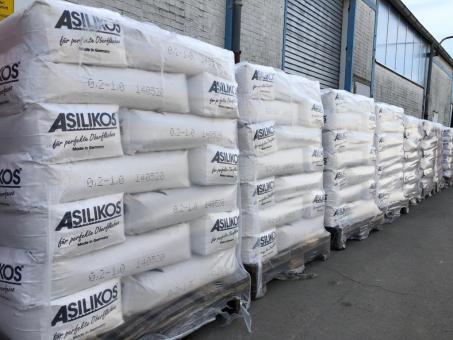 Granulat Asilikos 0.20-1.0 mm Schwarz 25kg Sack