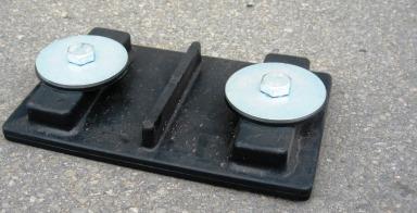 2Seitiger Verbinder für Bodenschutzplatte RP2412