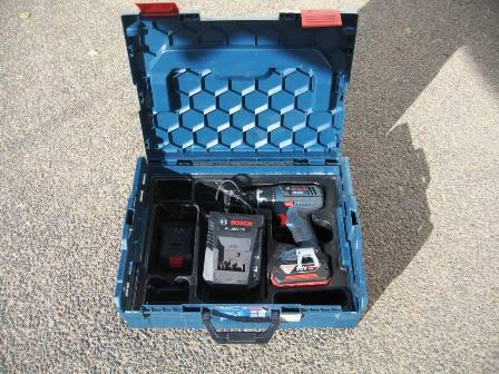 Akku-Bohrschrauber 18-2 LI Plus 2x4Ah Akku +Ladegerät