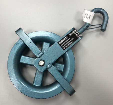 Handaufzug Seilrolle 190mm