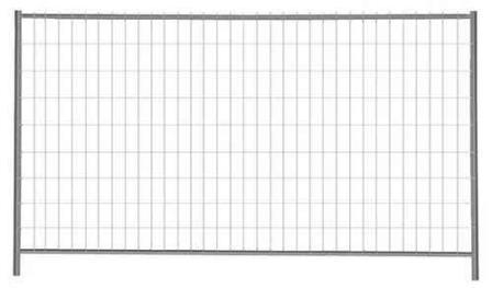 Bauzaun 3,50 m B x 2,00 m H 16 kg   Standard  Typ S