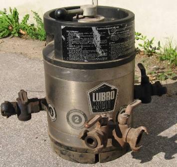 Druckluftöler Inliner 2 Ausgänge