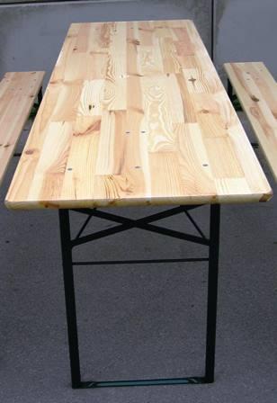 Tisch klappbar 72x220x50 cm HxBxT Partytisch