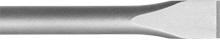 Flachmeißel B=30mm L=450mm 6Kant S 25x108mm
