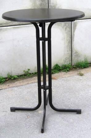 Gastro Steh-Tisch  klappbar Ø80 cm Höhe 110cm