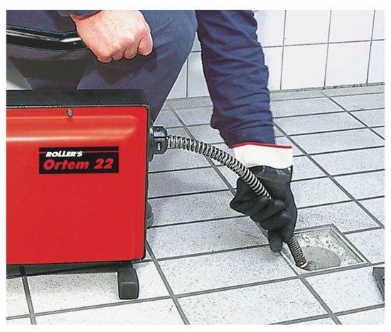 Rohrreinigungsmaschine Ortem 22 Set 16+22