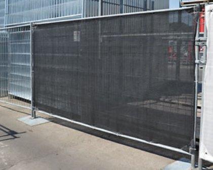 Sichtschutz- NETZ (winddurchlässig) ca.3,40x1,80m schwarz