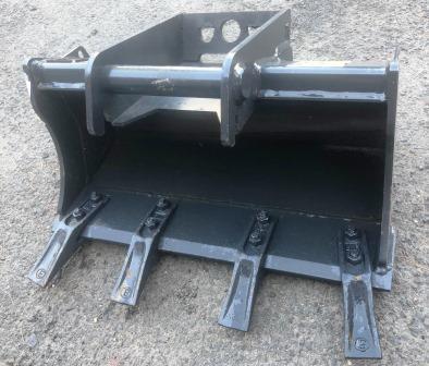 Tieflöffel 370mm (Standard) mit Zähne mit SWE MS 01