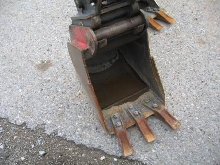 Tieflöffel 30cm mit Zähne mit SWE MS03